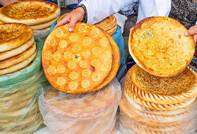 culinária Uzbequistão